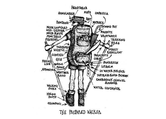 The Prepared Walker by Sarah Waterhouse from the Gruff Guide
